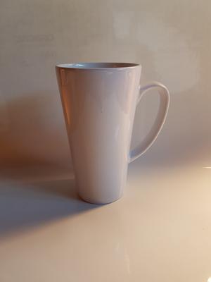 Vit sublimeringsmugg Kaffe-latte